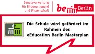 Logo Förderung im Rahmen des eEducation Berlin Masterplans
