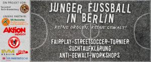 Junger Fußball in Berlin