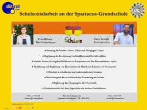 Schulsozialarbeit – Plakat
